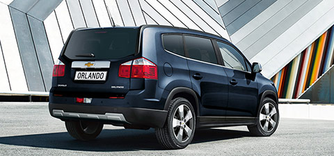 Le Chevrolet Orlando 7 places